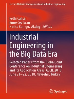 cover image of Industrial Engineering in the Big Data Era