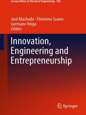 cover image of Innovation, Engineering and Entrepreneurship