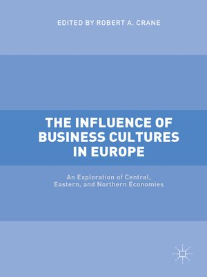cover image of The Influence of Business Cultures in Europe