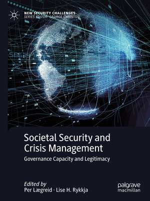 cover image of Societal Security and Crisis Management