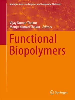 cover image of Functional Biopolymers