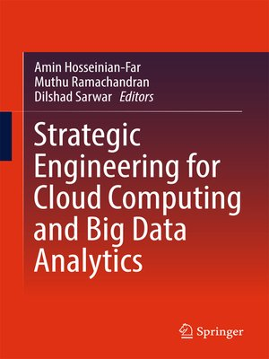 cover image of Strategic Engineering for Cloud Computing and Big Data Analytics