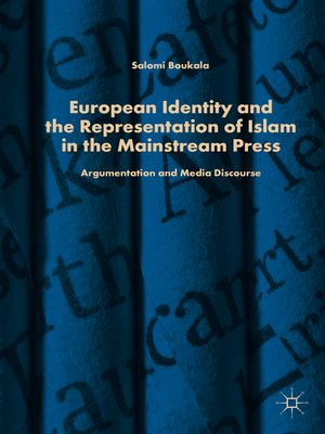 cover image of European Identity and the Representation of Islam in the Mainstream Press