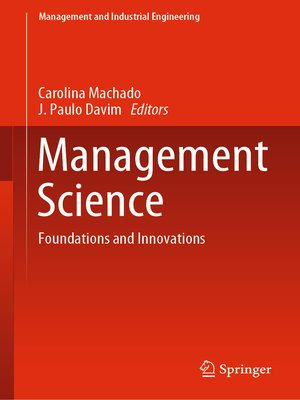 cover image of Management Science