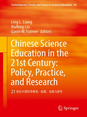 cover image of Chinese Science Education in the 21st Century