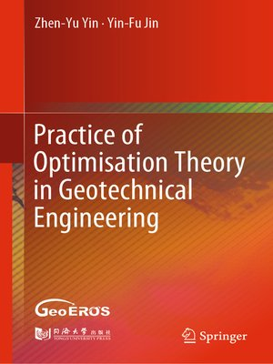 cover image of Practice of Optimisation Theory in Geotechnical Engineering