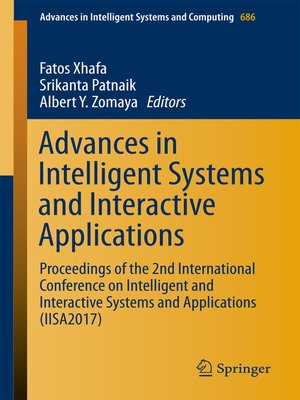 cover image of Advances in Intelligent Systems and Interactive Applications