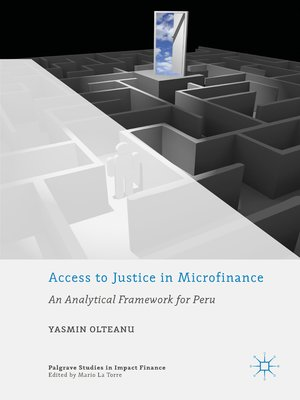 cover image of Access to Justice in Microfinance