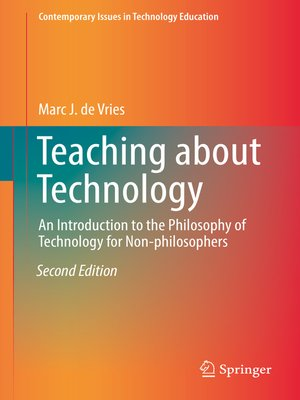 cover image of Teaching about Technology