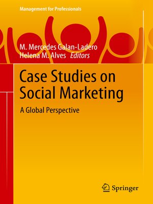 cover image of Case Studies on Social Marketing