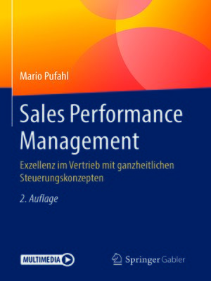 cover image of Sales Performance Management