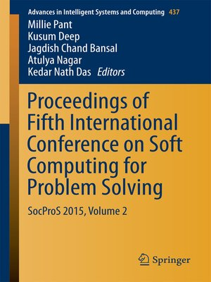 cover image of Proceedings of Fifth International Conference on Soft Computing for Problem Solving