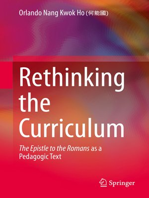 cover image of Rethinking the Curriculum