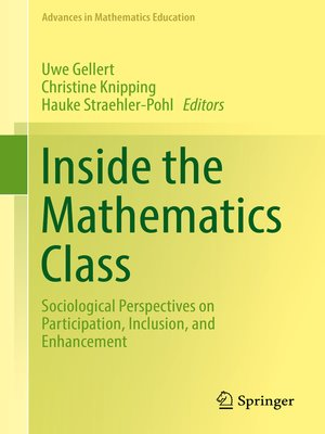 cover image of Inside the Mathematics Class