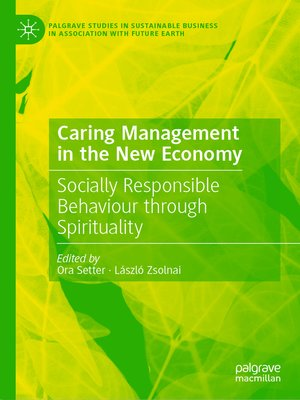 cover image of Caring Management in the New Economy