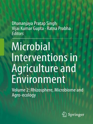cover image of Microbial Interventions in Agriculture and Environment