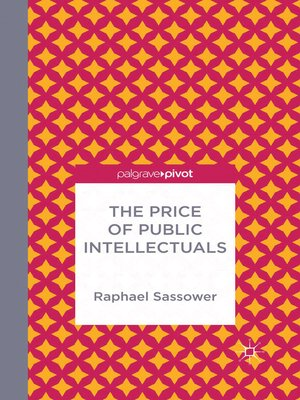 cover image of The Price of Public Intellectuals