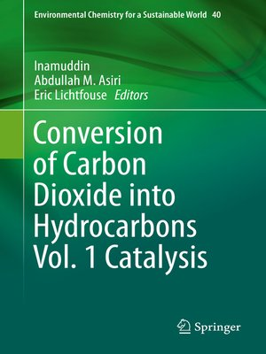 cover image of Conversion of Carbon Dioxide into Hydrocarbons Volume 1 Catalysis