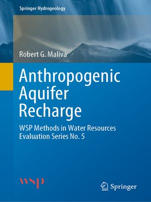 cover image of Anthropogenic Aquifer Recharge