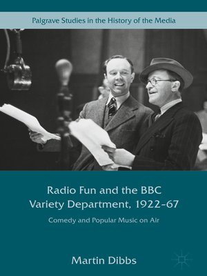 cover image of Radio Fun and the BBC Variety Department, 1922—67