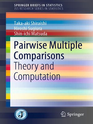cover image of Pairwise Multiple Comparisons