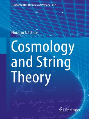 cover image of Cosmology and String Theory