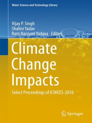 cover image of Climate Change Impacts