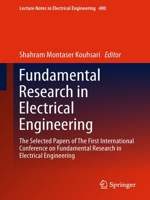 cover image of Fundamental Research in Electrical Engineering
