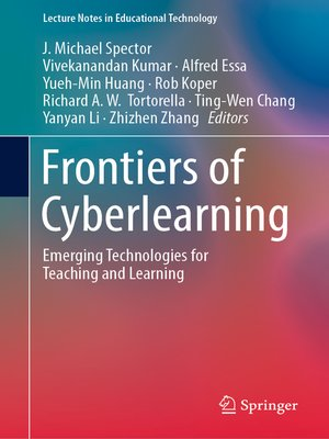cover image of Frontiers of Cyberlearning