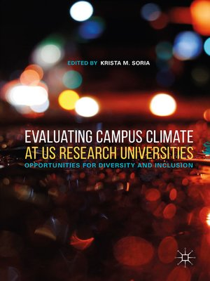 cover image of Evaluating Campus Climate at US Research Universities