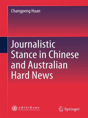 cover image of Journalistic Stance in Chinese and Australian Hard News