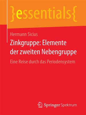 cover image of Zinkgruppe