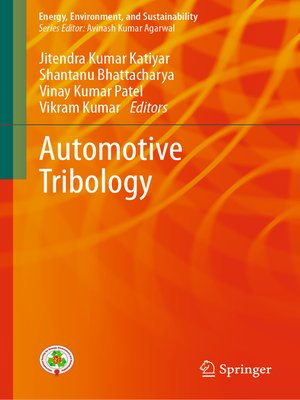 cover image of Automotive Tribology