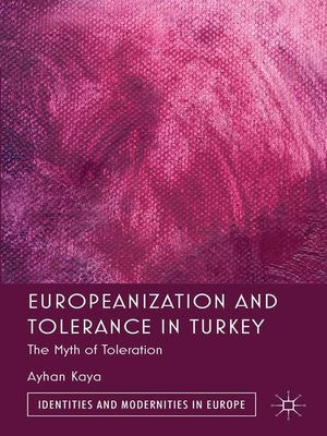 cover image of Europeanization and Tolerance in Turkey
