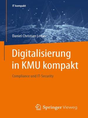 cover image of Digitalisierung in KMU kompakt