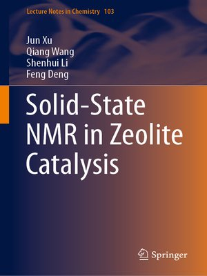 cover image of Solid-State NMR in Zeolite Catalysis