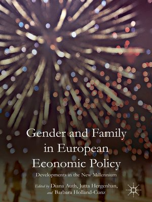 cover image of Gender and Family in European Economic Policy