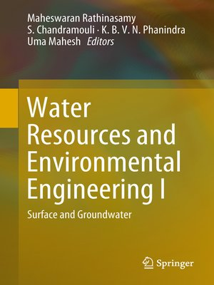 cover image of Water Resources and Environmental Engineering I