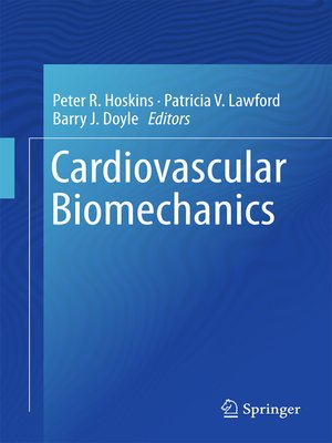 cover image of Cardiovascular Biomechanics