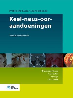 cover image of Keel-neus-ooraandoeningen