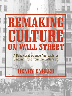 cover image of Remaking Culture on Wall Street