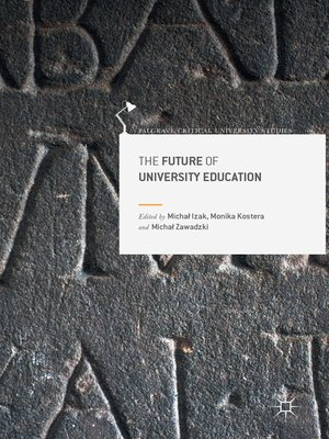 cover image of The Future of University Education