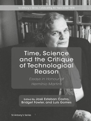 cover image of Time, Science and the Critique of Technological Reason