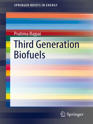 cover image of Third Generation Biofuels