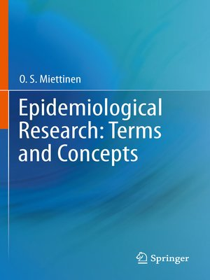 cover image of Epidemiological Research