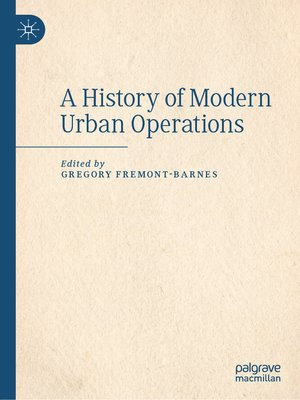 cover image of A History of Modern Urban Operations