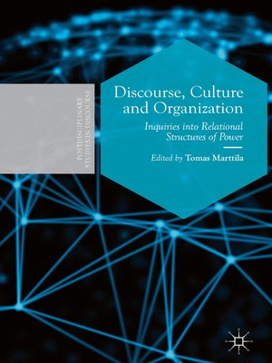 cover image of Discourse, Culture and Organization