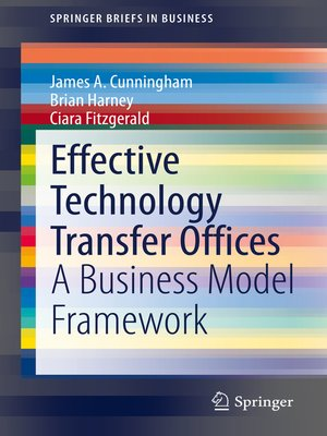 cover image of Effective Technology Transfer Offices
