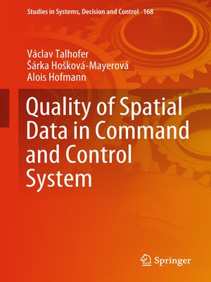 cover image of Quality of Spatial Data in Command and Control System