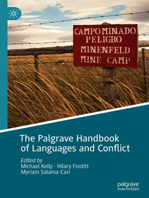 cover image of The Palgrave Handbook of Languages and Conflict